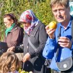 Apfeltag im Interkulturellen Garten Wilhelmsburg