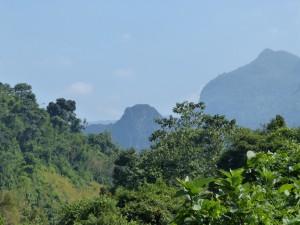 Bergwelt in der Provinz LuangPrabang